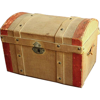 All Original Antique Doll Trunk
