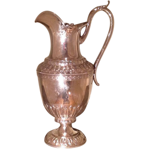 American sterling silver water pitcher by Gale & Willis
