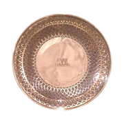 Early 20th century Tiffany sterling serving tray c. 1920