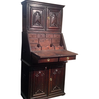 17th century Spanish or Portuguese desk/cupboard
