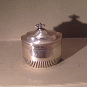 19th cent. British Sterling tea caddy by Henry Stratford