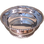 American sterling silver bowl made in 1897