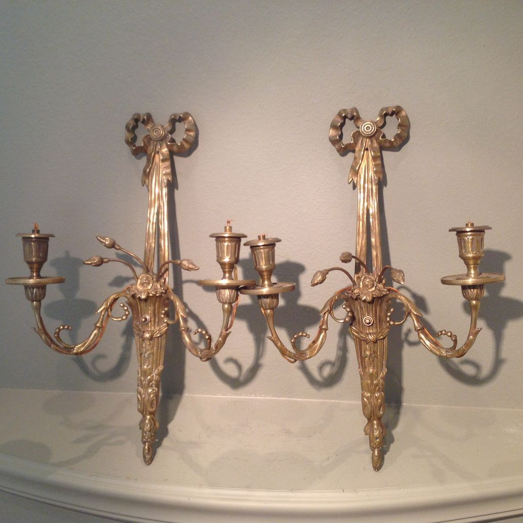 Pair of 19th cent. French sconces
