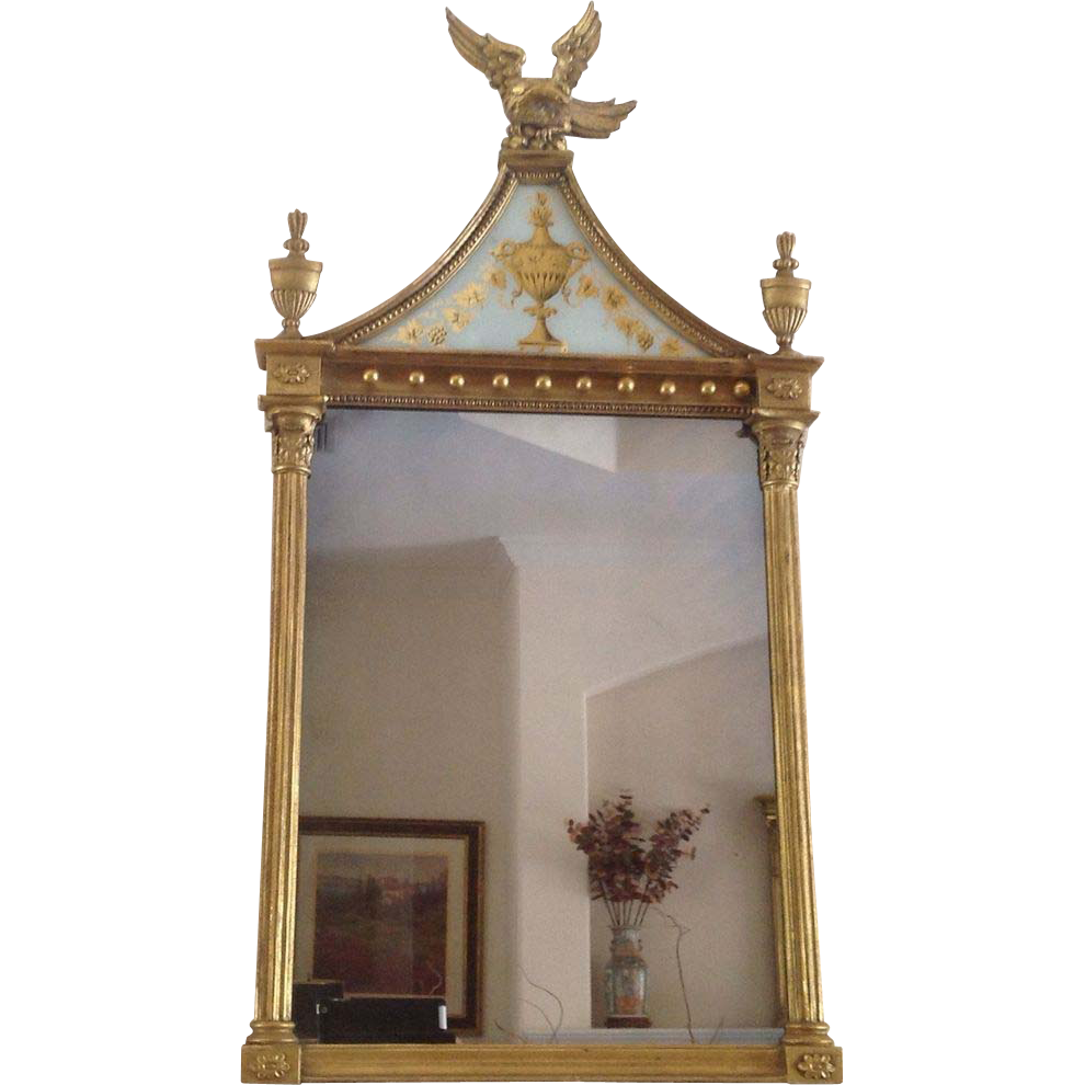 19th cent. American or English mirror