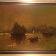 Early 20th cent. American oil painting