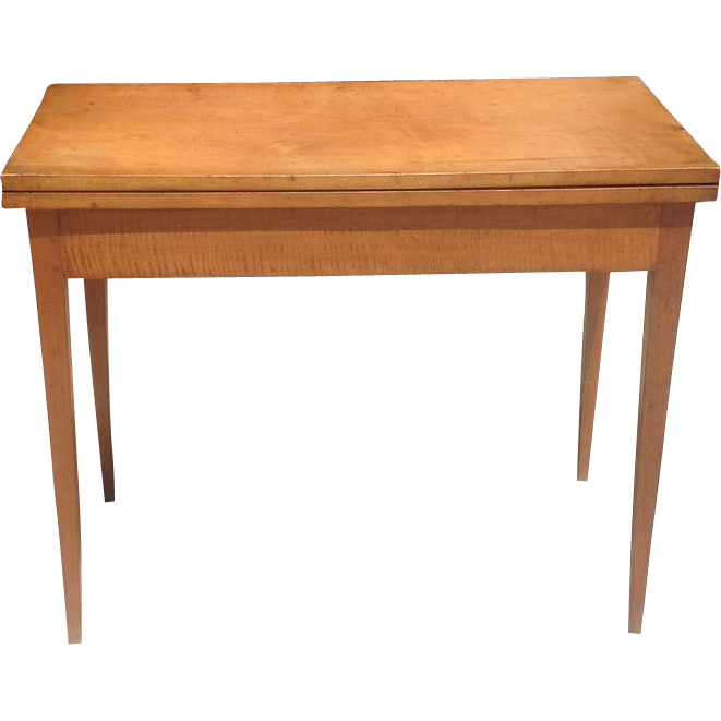 C.1800 American card table