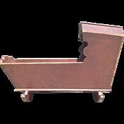 C.1840 American painted cradle