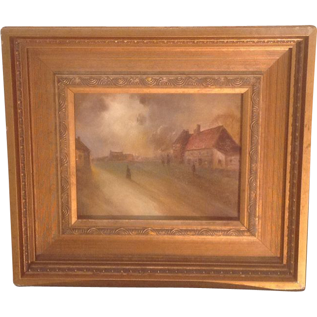 Mid 20th cent. American oil painting