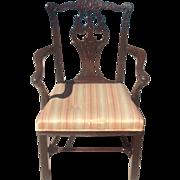 18th cent. English armchair