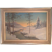 C. 1930 American painting