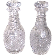 Early 20th cent. Cut Glass Decanters