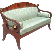 Early 19th c. Russian sofa/daybed