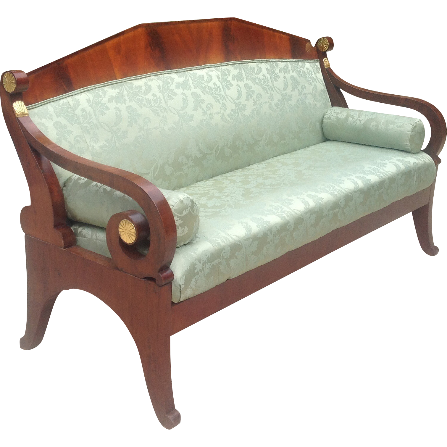 Early 19th c Russian sofa daybed from edwinskinner on Ruby Lane
