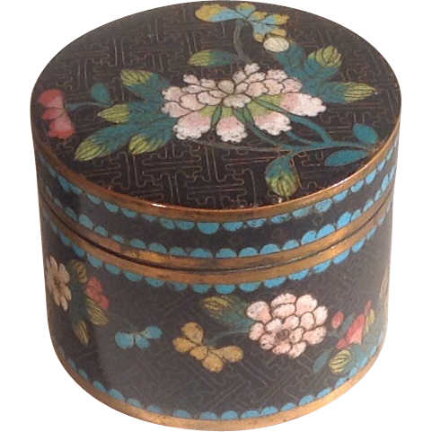Late 19th c. Chinese cloisonné