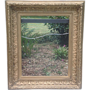 Huge 19th cent. Gilded Frame