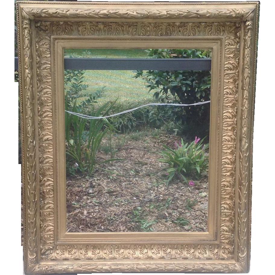 Huge 19th cent. Gilded Frame