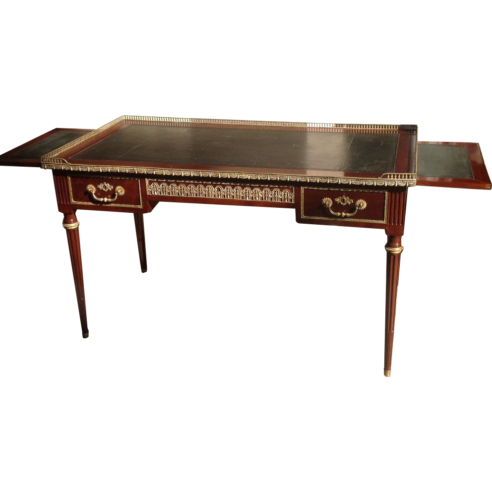 19th C. signed GILLOWS English Desk
