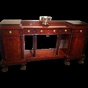 C. 1820 Philadelphia sideboard