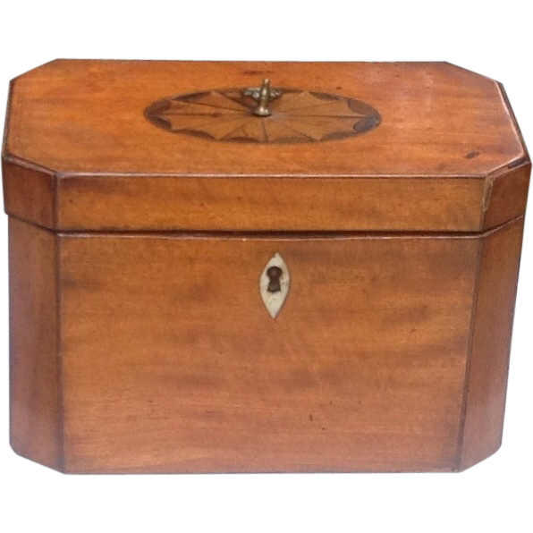 Early 19th c. English tea caddy