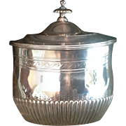 19th c. Sterling Scottish Tea Caddy
