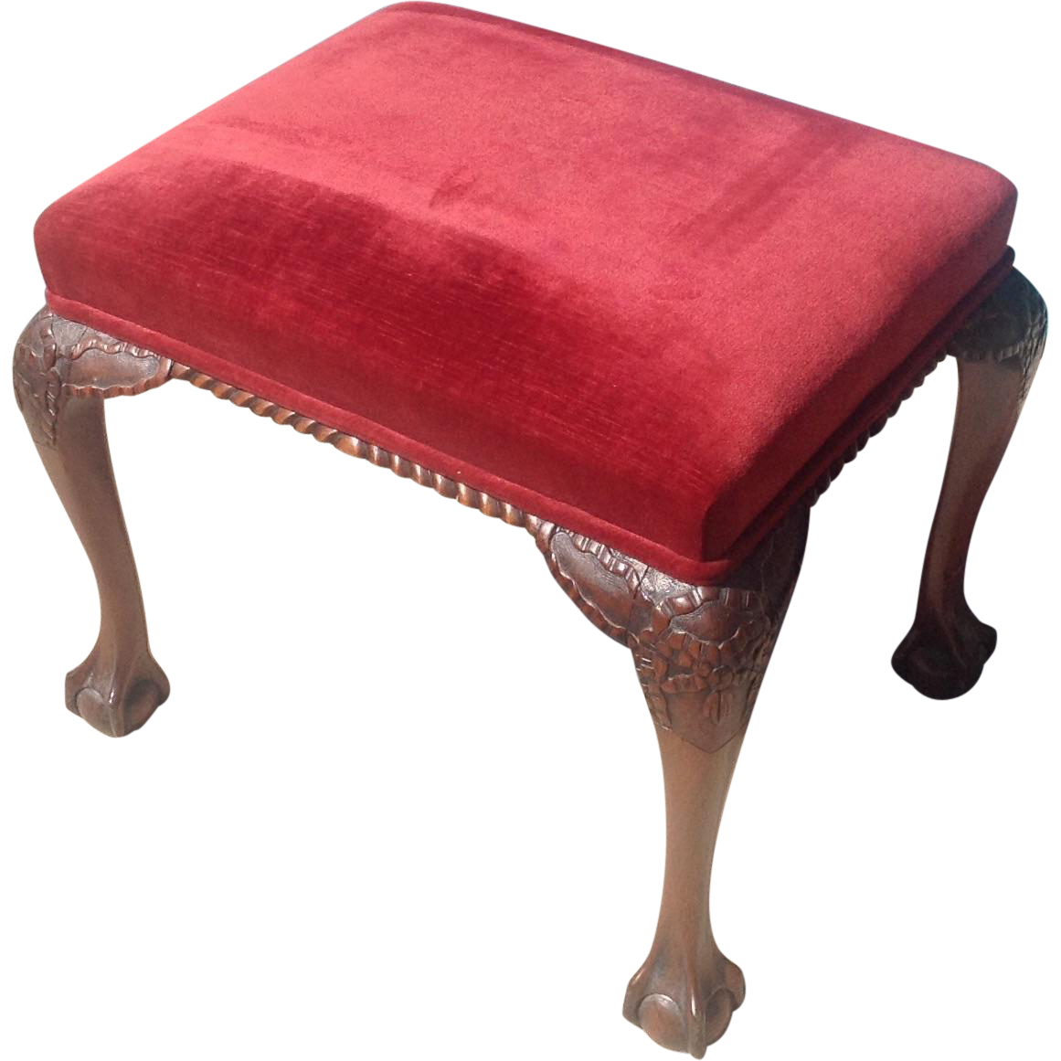 C. 1910 American or English Stool