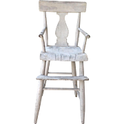 19th cent. American child's high chair