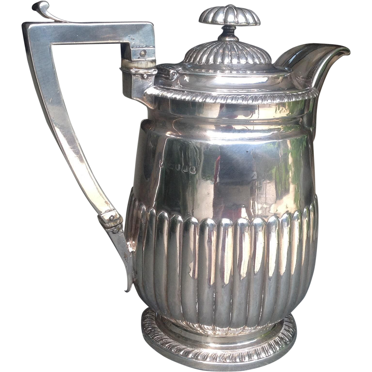 Early 19th c. Sterling Water Pitcher