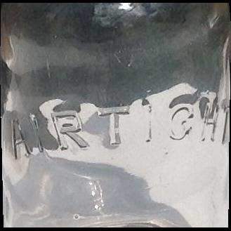 C. 1900 American Fruit Jar