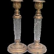 C. 1910 Continental Candlesticks