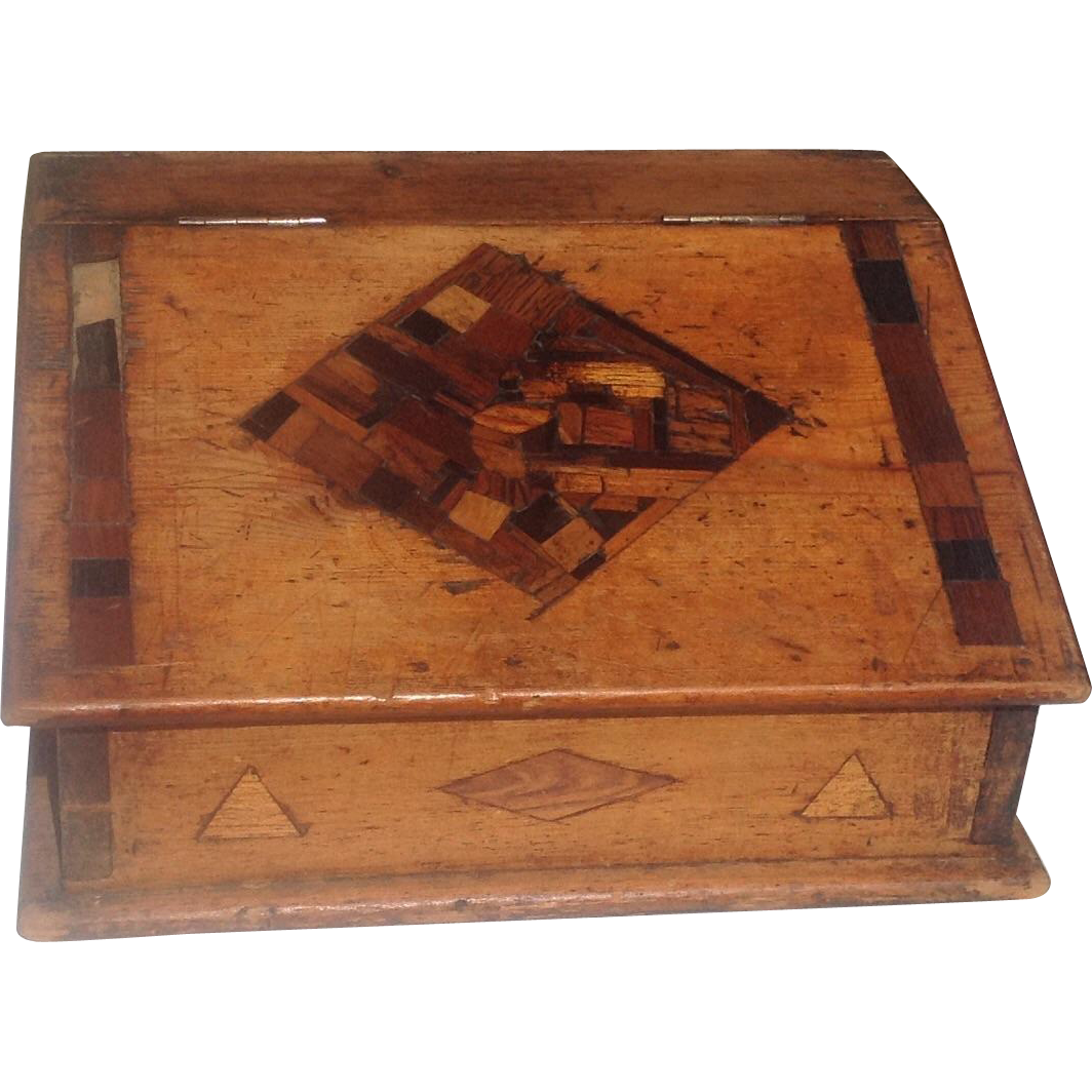 19th c. American Bible Box