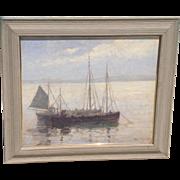 C. 1910 Oil by Henry Eddy