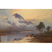 Alfred de Breanski Jr. oil painting