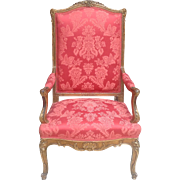 19th c. Louis XV style armchair