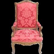 19th c. Louis XV style armchair