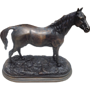 19th c. French Bronze Horse