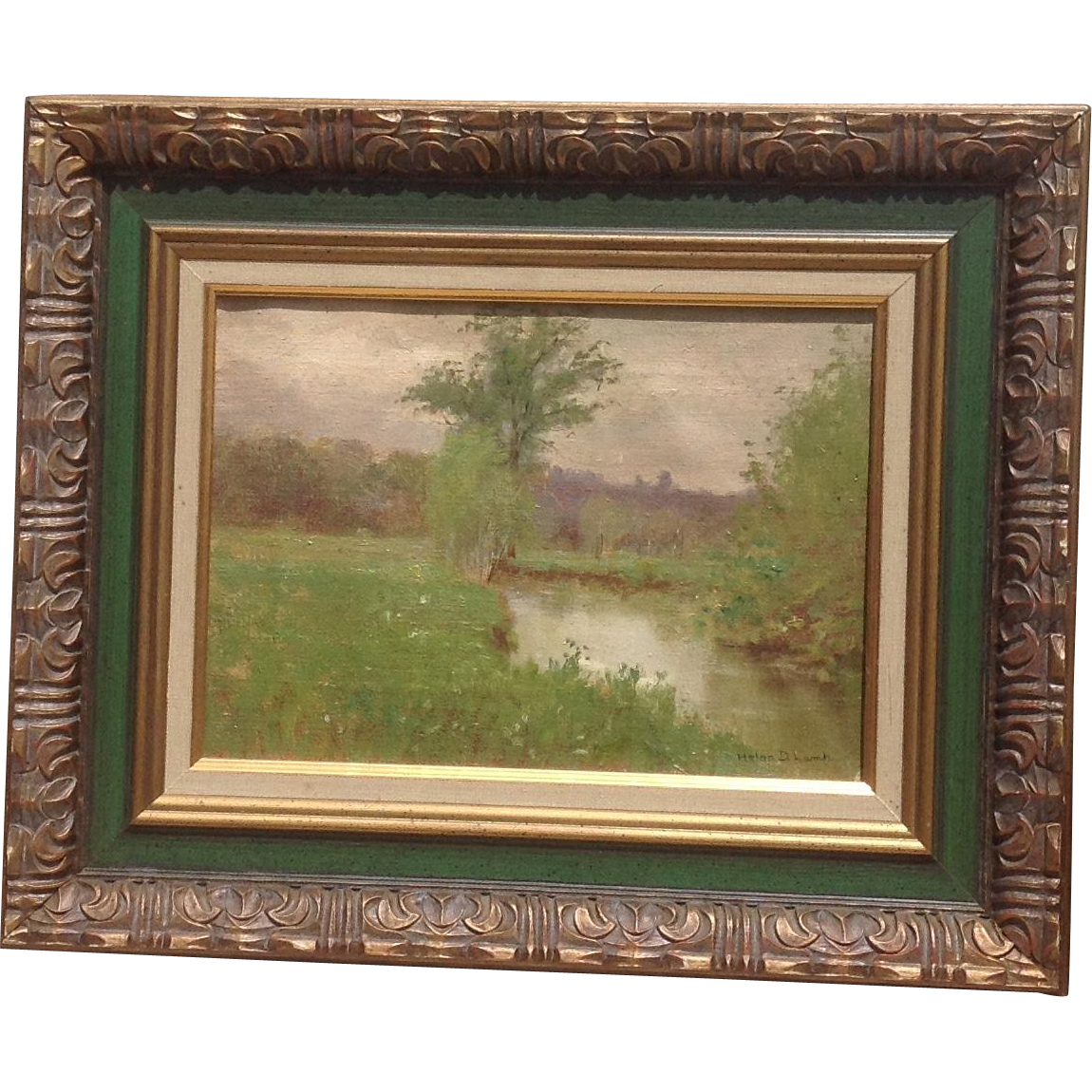 19th c. British Oil Painting