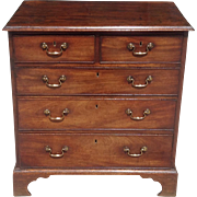 18th c. English chest of drawers