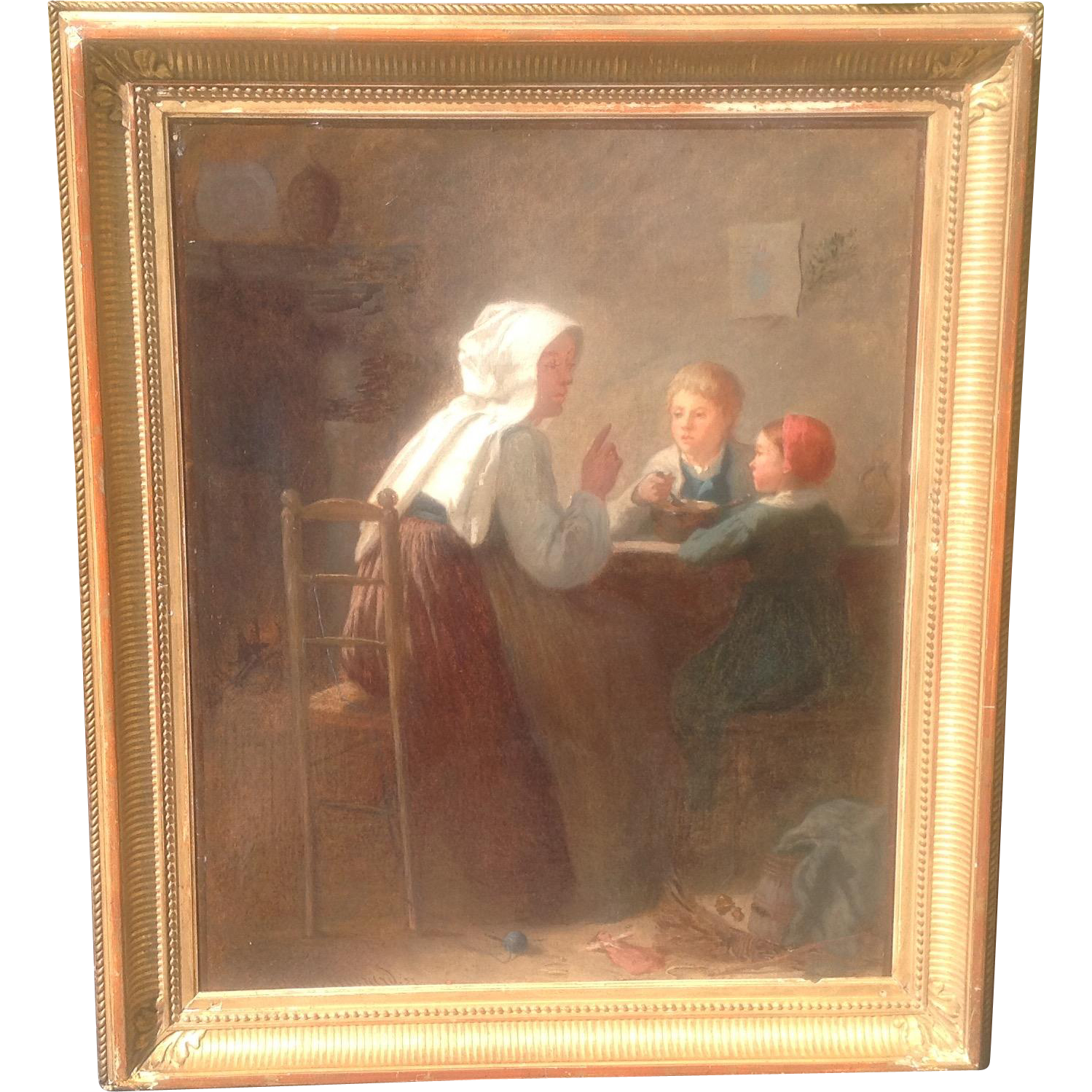 19th c. European Oil Painting