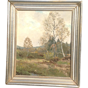 Early 19th c. German Oil Painting