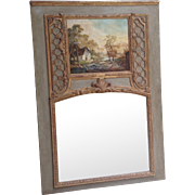 18th c. French Trumeau Mirror
