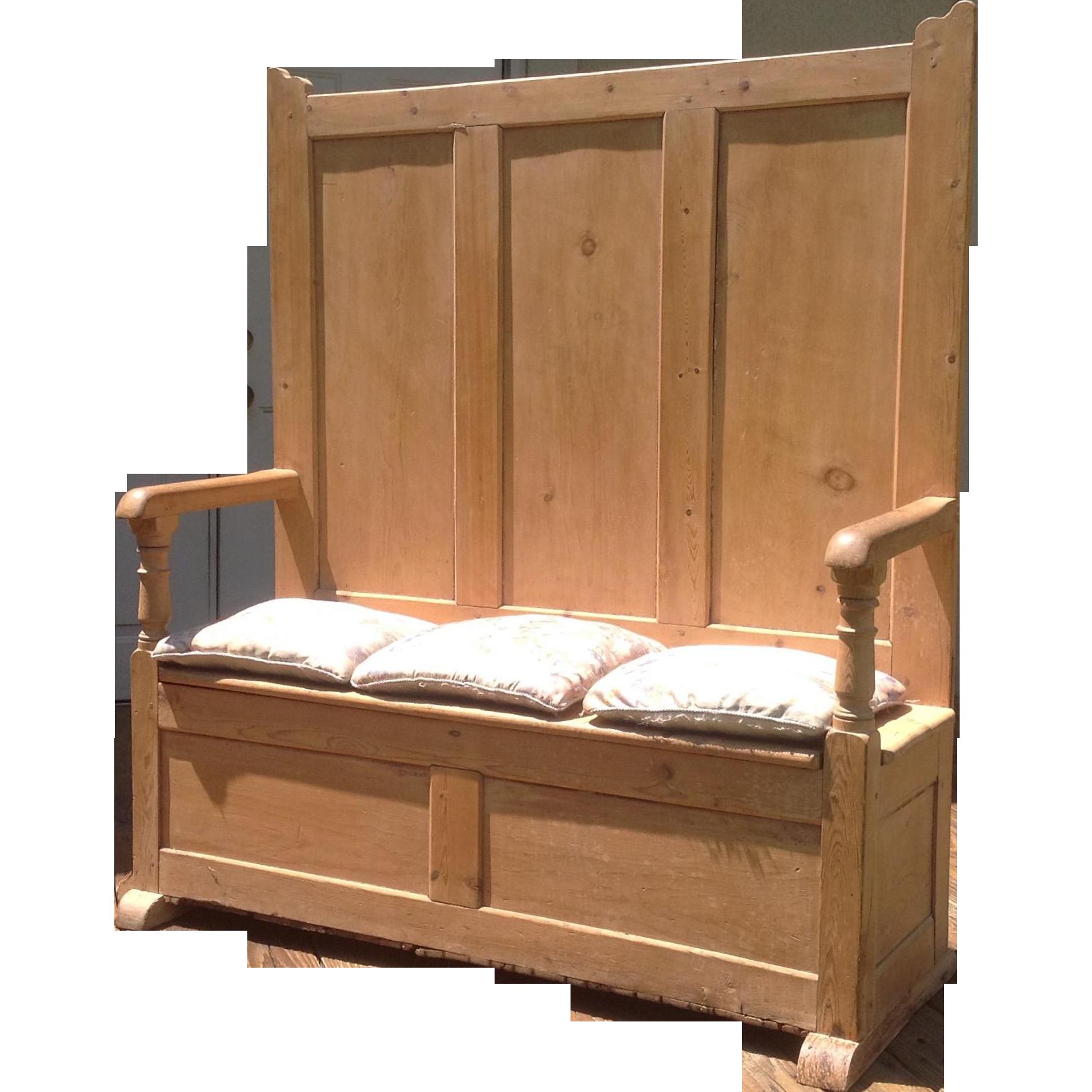 18th c. British Settle Bench