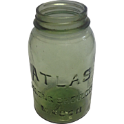 Early 20th c. American Fruit Jar