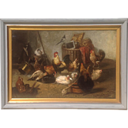 19th c. European Oil Painting