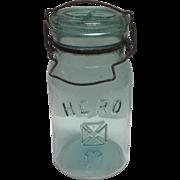 A 19th c. American Fruit Jar