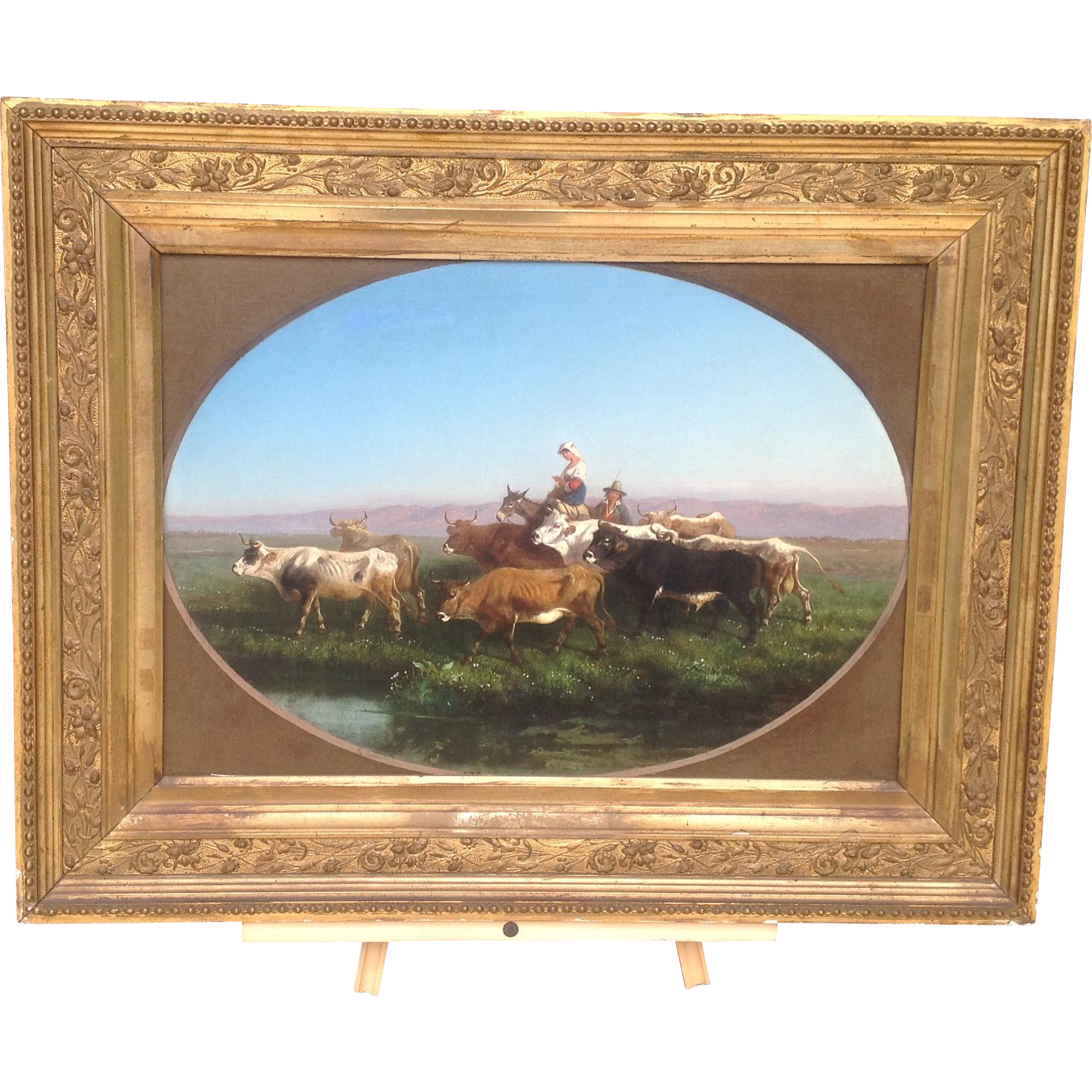 19th century European Oil Painting