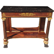 C. 1820 American Classical Pier Table