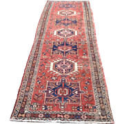 Early 20th c. Persian Karajeh Rug