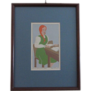 Anne of Green Gables Serigraph