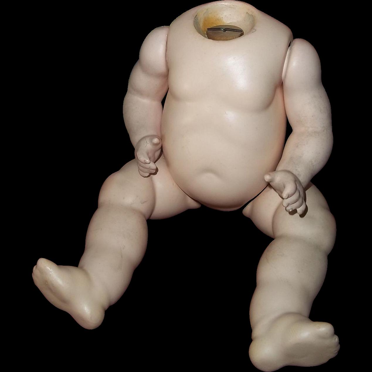 Early 20c. Wonderful Baby/Toddler German Body