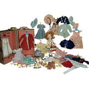 HP MARY HOYER with Extensive Wardrobe and Trunk w/key - Red Tag Sale Item